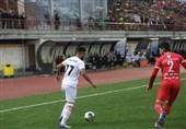 لیگ برتر فوتبال| تساوی یک نیمهای ذوبآهن و سپیدرود