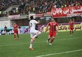 لیگ برتر فوتبال| شکست یک نیمهای فولاد خوزستان مقابل سپیدرود