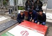 حضور جامعه قرآنی لبنان در گلزار شهدای تهران+عکس