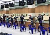 نتایج تیمهای میکس تفنگ بادی 10 متر ایران مشخص شد