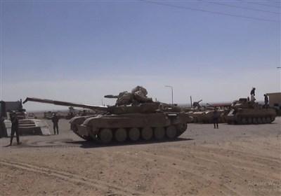 گزارش تسنیم از سوریه|زرادخانه مخوف «ارتش عربستان» در«الضمیر»؛ تسلیم انواع تانک تا موشکهای «تاو» آمریکا به ارتش سوریه+ فیلم و تصاویر