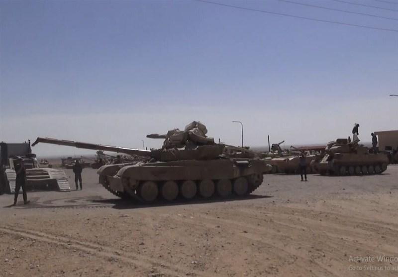 گزارش تسنیم از سوریه| زرادخانه مخوف «ارتش عربستان» در«الضمیر»؛ تسلیم انواع تانک تا موشکهای «تاو» آمریکا به ارتش سوریه+ فیلم و تصاویر