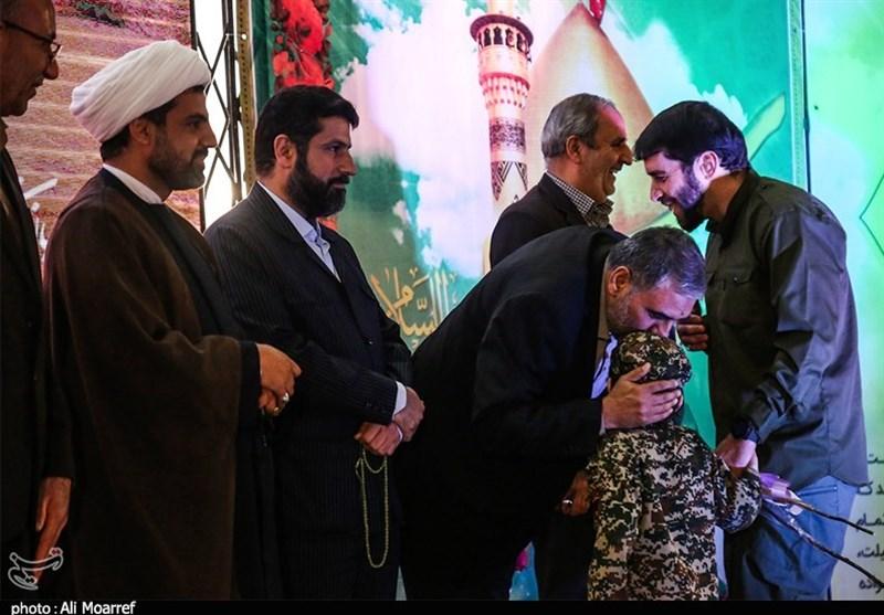 خوزستان| مراسم نکوداشت جانبازان مدافع حرم اهواز به روایت تصاویر