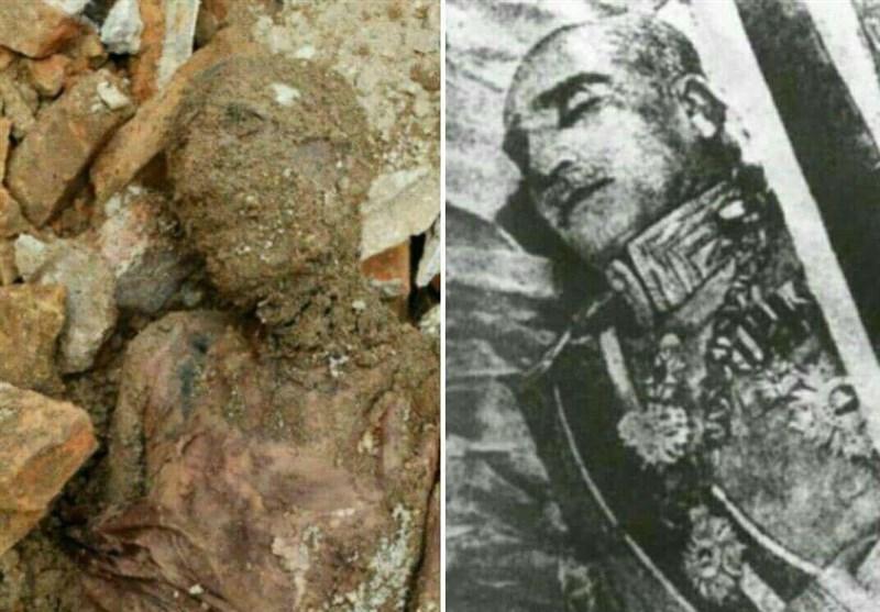 مومیایی کشف شده در شهری متعلق به رضاشاه است؟