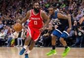 لیگ NBA| پیروزی راکتس با درخشش هاردن/ شکست ممفیس در وقت اضافه
