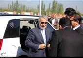 آذربایجان غربی| بازدید معاون رئیس جمهور از ایستگاه راه آهن ارومیه به مراغه+فیلم