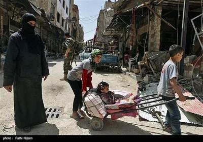 شهر دوما پس از آزادسازی از دست تروریست ها