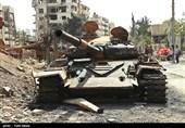 گزارش اختصاصی تسنیم از«دوما»|غنایم به جا مانده از «جیش الاسلام»؛ انبارهای تسلیحاتی و توپخانههایی به تعداد ساکنان «دمشق»