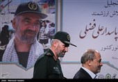 مراسم تقدیر از یک دهه مجاهدت سردار فضلی در ترویج راهیان نور برگزار شد+عکس