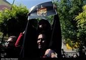 تجمع هیئتهای مذهبی تهران در اعتراض به هتک حرمت امام رضا(ع)