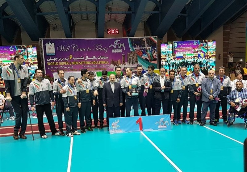 Iran Claims World Super 6 Sitting Volleyball Title