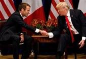 ترامپ: به زودی با ماکرون به توافقی درباره ایران دست خواهیم یافت/ماکرون: مذاکرات ما درباره ایران و سوریه بسیار خوب بود