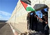 موانع انتفاضه در کرانه باختری-2  دیوار حائل