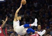 پلیآف لیگ NBA| شکست خانگی وریرز/ فیلادلفیا از سد بروکلین گذشت