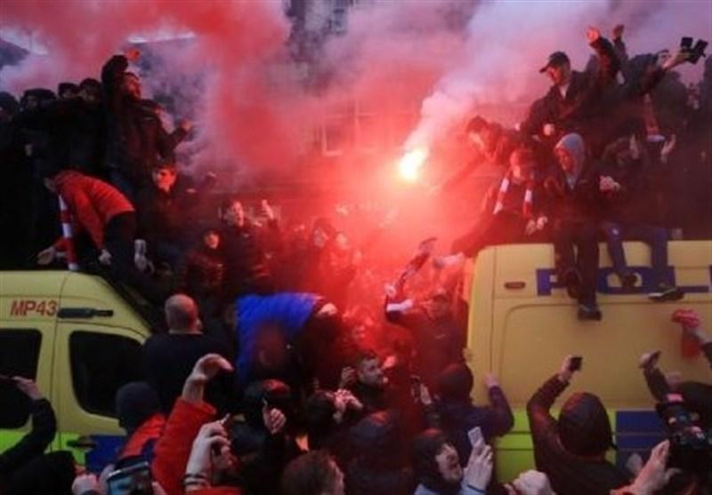 رم و لیورپول از حضور هوادارانشان در لیگ قهرمانان محروم شدند