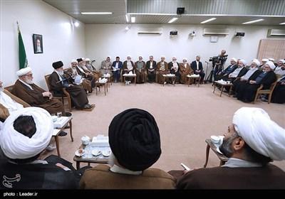 دیدار دستاندرکاران همایش حکیم تهران با رهبر معظم انقلاب
