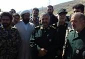 پنجمین بازدید فرمانده سپاه از مناطق زلزلهزده غرب کشور