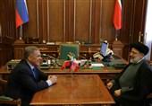 حجتالاسلام رئیسی در دیدار با رئیسجمهور تاتارستان: همکاری ایران و روسیه در برخورد با جریانهای دستساز آمریکا بسیار مؤثر است
