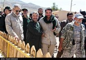 گزارش ویدئویی تسنیم از خانهسازی سپاه برای زلزلهزدگان کرمانشاه