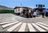 گزارش تسنیم: ساخت 27 خانه در 27 روز در مناطق زلزلهزده کرمانشاه توسط لشکر 27