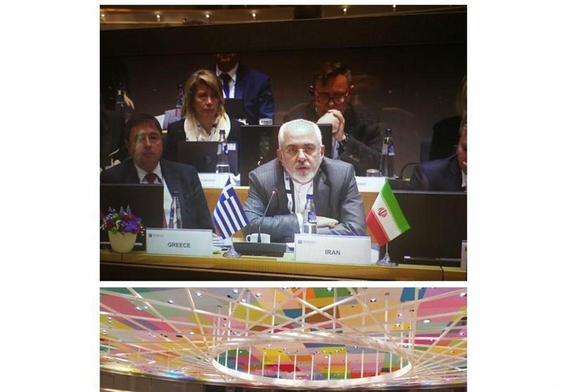 ظریف در بروکسل: برقراری آتشبس در سوریه باید کماکان اولویت اصلی ما به شمار آید