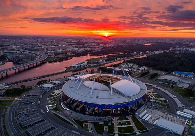 عکسبرداری هنری از تمامی ورزشگاههای جام جهانی 2018