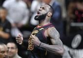 لیگ NBA|جیمز از رکورد جردن گذشت