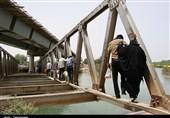 خوزستان| خطر غرق شدگی مردم فتح المبین در کرخه+فیلم