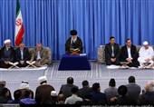 گزارش تصویری دیدار شرکتکنندگان مسابقات بینالمللی قرآن با رهبر معظم انقلاب