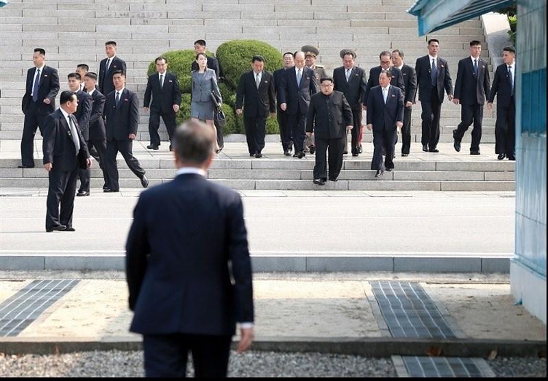 حاشیههای خواندنی دیدار سران ۲ کره+تصاویر و فیلم