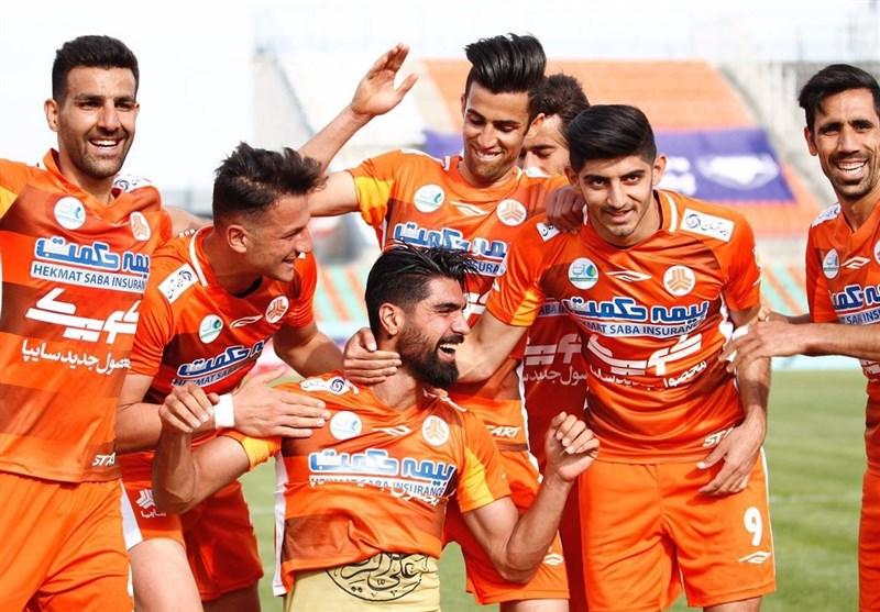 لیگ برتر فوتبال| برتری سایپا, ذوبآهن و پارس جنوبی در نیمه نخست