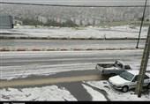 پیشبینی تشدید باران و برف/ تگرگ هم از راه رسید/هوا سردتر می شود