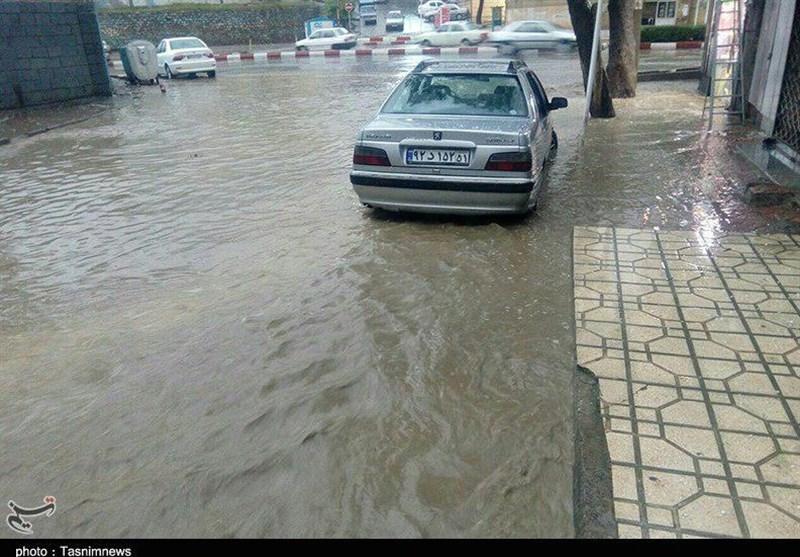 هشدار بارش شدید و تگرگ طی امروز و فردا