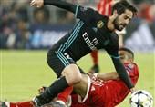 ایسکو بازی برگشت رئال مادرید - بایرن مونیخ و الکلاسیکو را از دست داد
