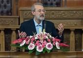 """لاریجانی: اقدامات آمریکا درباره فلسطین و مسئله هستهای """"بیپاسخ"""" نمیماند"""