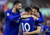 لیگ برتر انگلیس| چلسی با پیروزی در ولز به حضور در لیگ قهرمانان اروپا امیدوار شد