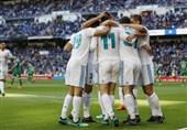 لالیگا  برتری حداقلی رئال مادرید بدون رونالدو و ستارگانش