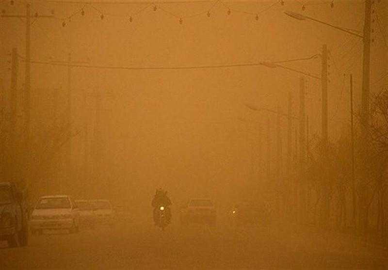 اهواز|کاهش دیدی ناشی از دود در استان خوزستان