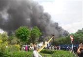 جزئیات آتش گرفتن یک رستوران در بازار تهران