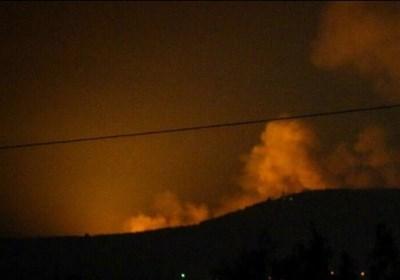 تجاوز جدید موشکی رژیم صهیونیستی به پایگاه نظامی سوریه در حومه حلب