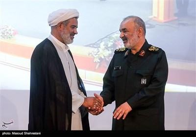 سردار سلامی جانشین فرمانده کل سپاه پاسداران درمراسم بزرگداشت روز ملی خلیج فارس