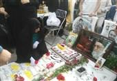 مراسم جشن تولد 30 سالگی شهید مدافع حرم+فیلم و عکس