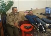 دیدار فرمانده کل ارتش با جانبازان 70 درصد+عکس