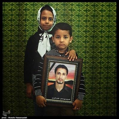 یاسمن دامن زن ۹ ساله و محمد یاسین دامن زن ۷ ساله ساکن شهرستان آزادشهر