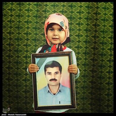 زهرا آریون ۳ ساله شهرستان رامیان