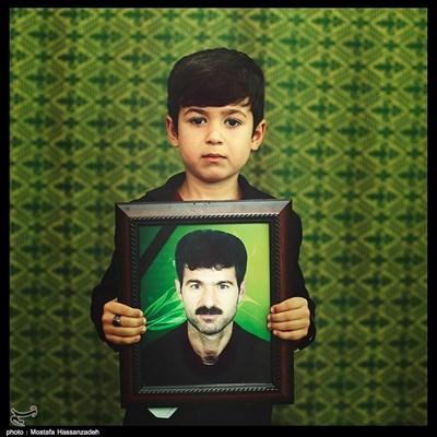 علی رضا علیخانی ۶ ساله ساکن شهرستان آزادشهر