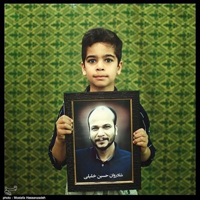 امیر عباس خلیلی ۹ ساله ساکن شهرستان رامیان