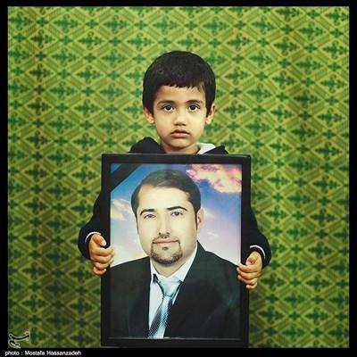 امیر عباس هدایتی ۴ ساله ساکن شهرستان رامیان