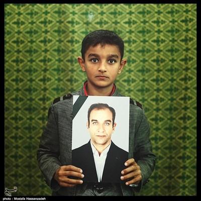 حسین برآبادی ۱۰ ساله ساکن شهرستان نوده