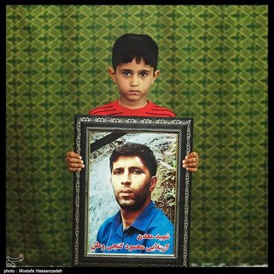 محمد طاها گنجی ۶ ساله ساکن شهرستان آزادشهر